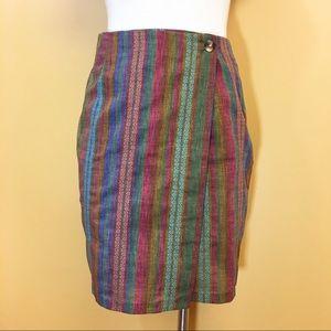 Vintage Wrap Skirt Size 4